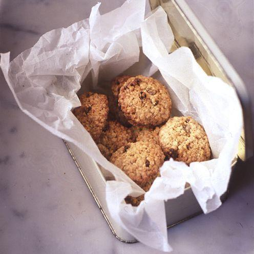 """<p>You're guaranteed success with this quick and easy recipe.<br><br><strong>Recipe:</strong> <a href=""""https://www.goodhousekeeping.com/uk/food/recipes/oat-and-sultana-cookies"""" rel=""""nofollow noopener"""" target=""""_blank"""" data-ylk=""""slk:Oat and sultana cookies"""" class=""""link rapid-noclick-resp"""">Oat and sultana cookies</a><br> </p>"""