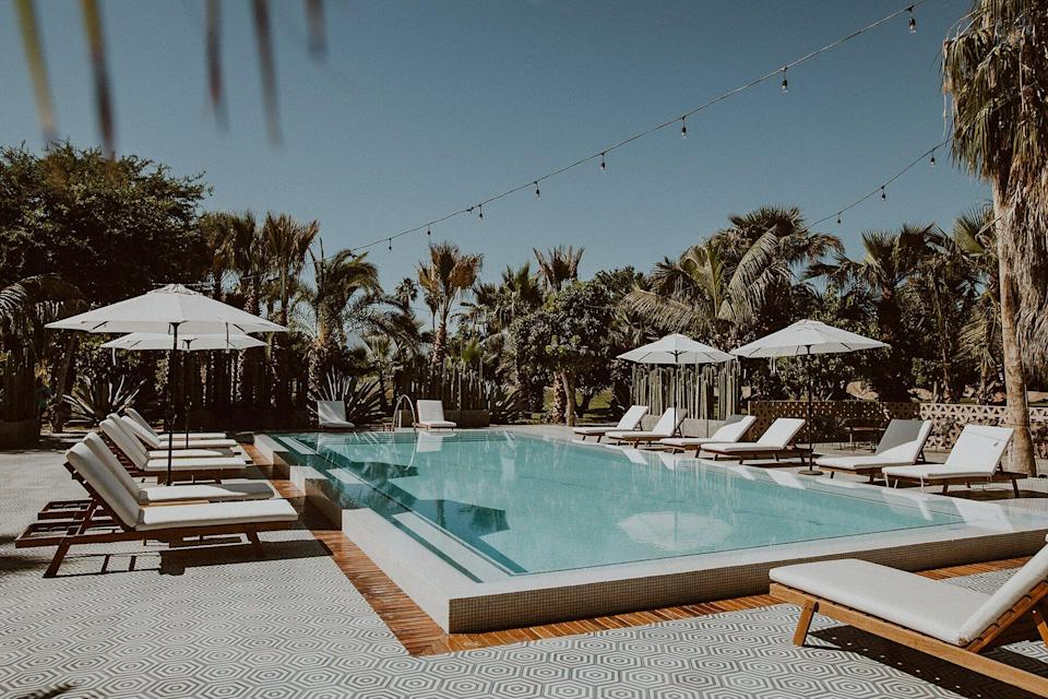 The pool at Acre Baja