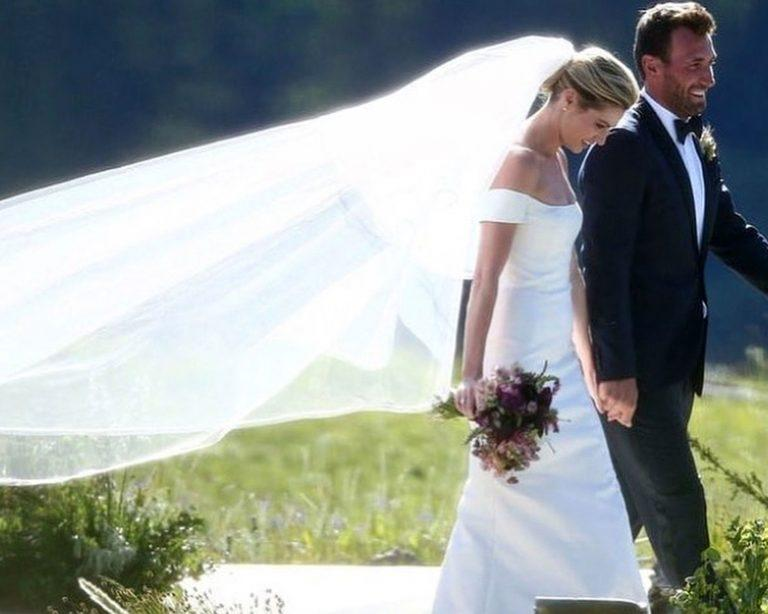 Erin Andrews Wedding Dress