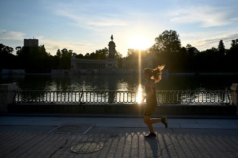 Parks, gyms and swimming pools reopened in Spain, as the country emerges from one of the world's toughest lockdowns