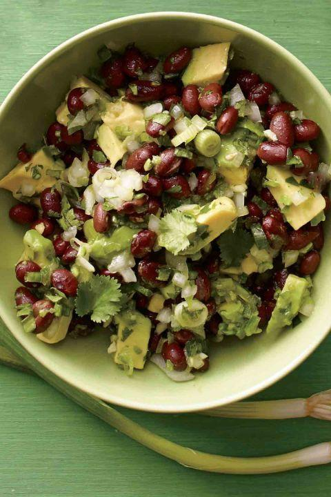 "<p>As the game gets going, this veggie-based dip brings even more heat with jalapeños<span class=""redactor-invisible-space"">,</span> black beans, and avocado.<br></p><p><a href=""http://www.womansday.com/food-recipes/food-drinks/recipes/a12282/black-bean-avocado-salsa-recipe-wdy0713/"" rel=""nofollow noopener"" target=""_blank"" data-ylk=""slk:Get the recipe from Woman's Day »"" class=""link rapid-noclick-resp""><em>Get the recipe from Woman's Day »</em></a></p>"