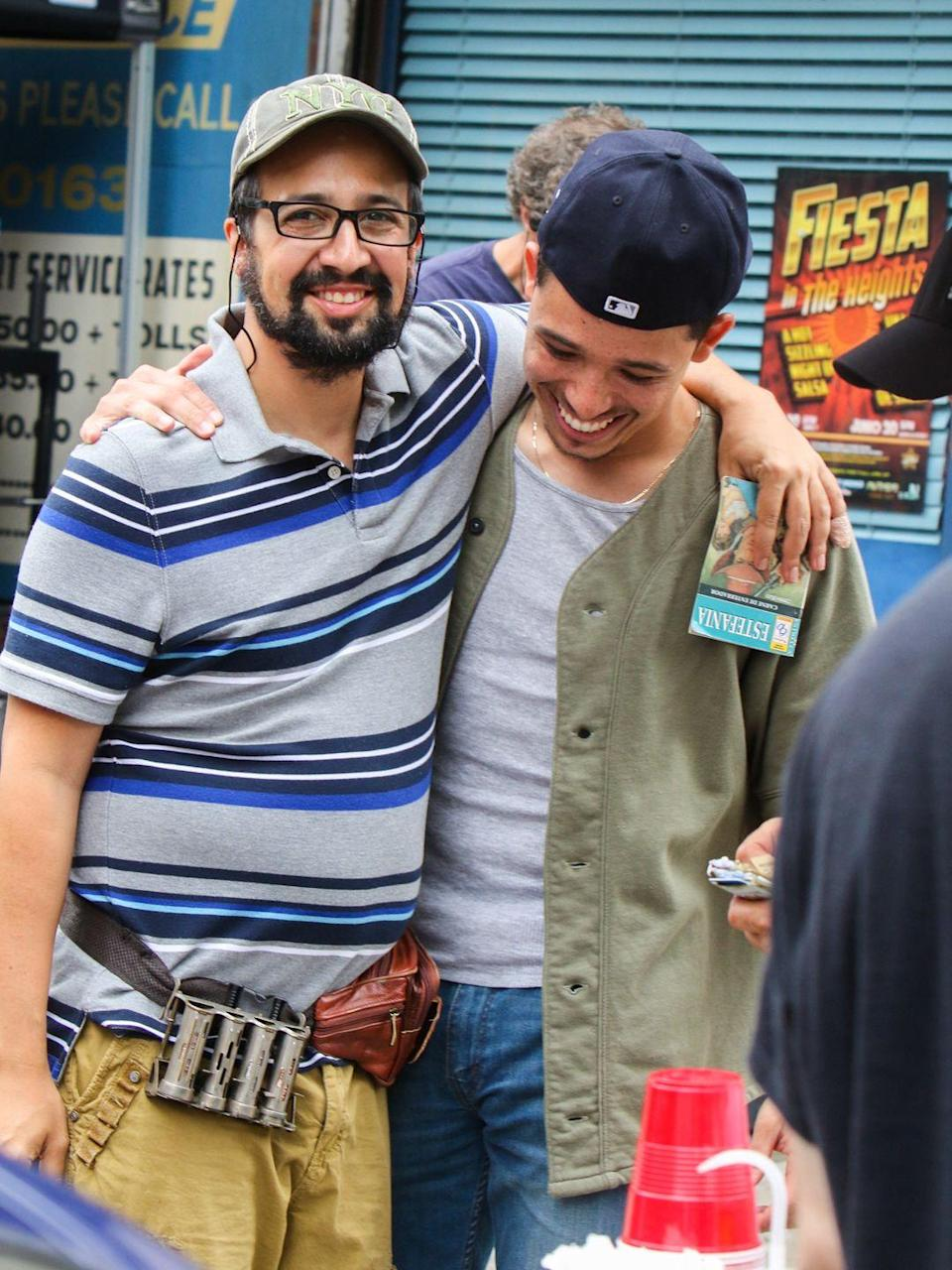 <p>Anthony Ramos will follow in Miranda's footsteps, playing Usnavi in the upcoming movie. Ramos is familiar with the role, having helmed the show when <em>In the Heights</em> traveled to the Kennedy Center for the performing Arts in Washington D.C. in 2018. He and Miranda are close friends, having also worked together on <em>Hamilton</em>, in which Ramos played Miranda's on-screen son, Philip.</p>