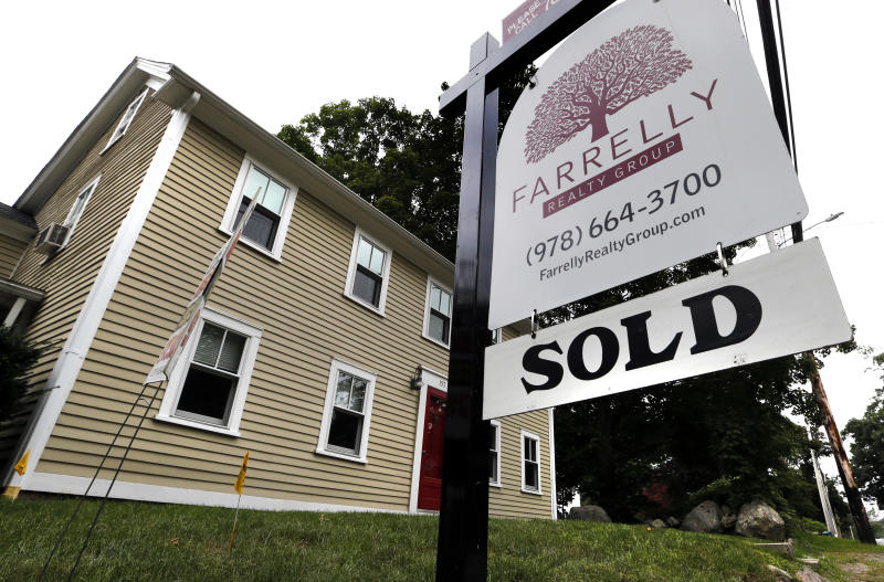 U.S. July new home sales fall to nine-month low