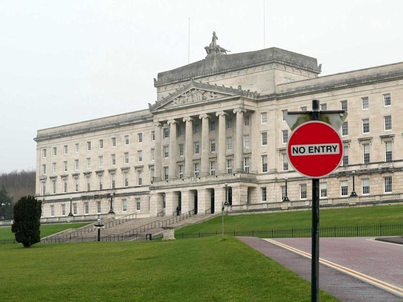 Power-sharing collapsed in January after Sinn Fein pulled out of Stormont due to allegations of a DUP financial scandal: Getty
