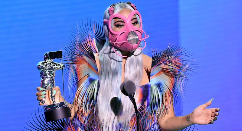 (Copyright Kevin Winter/MTV VMAs 2020/Getty Images for MTV/AFP)