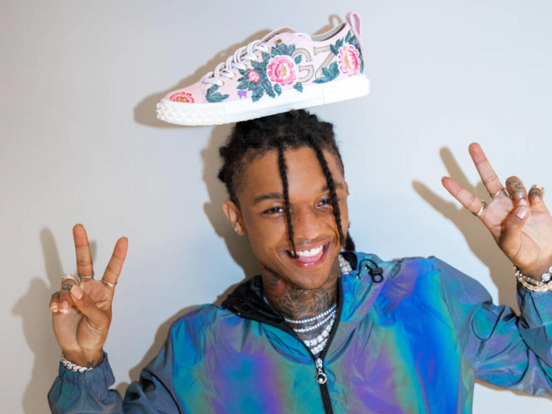 Swae Lee teams with Giuseppe Zanotti on footwear collection