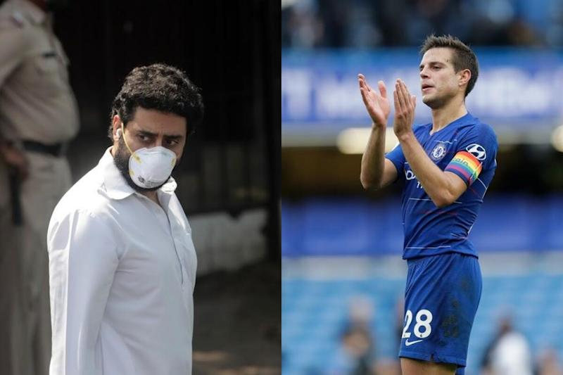 Covid-19: Chelsea's Ceasar Azpilicueta Sends Moving Message to Abhishek Bachchan