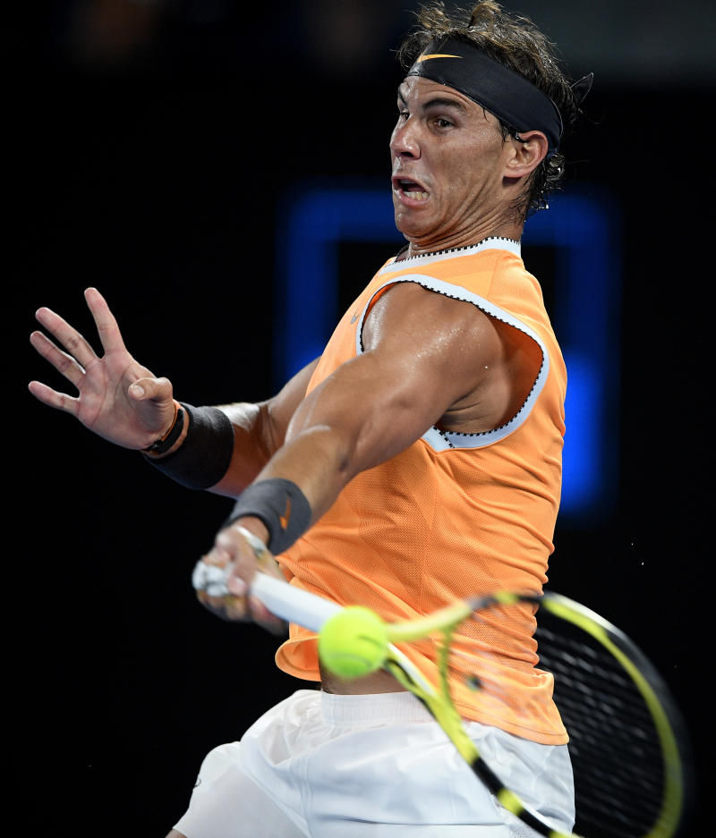Nadal enters 5th Australian Open final