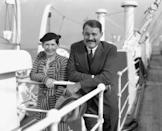 """<p> Hemingway met his second wife after returning to Paris—and while he was still married to his first. In fact, journalist Pauline Pfeiffer was a good friend of the couple's. Hemingway divorced Richardson in 1927 and married Pfeiffer that same year. He later used the experience as <a href=""""https://www.biography.com/news/ernest-hemingway-wives"""" rel=""""nofollow noopener"""" target=""""_blank"""" data-ylk=""""slk:inspiration for his novel"""" class=""""link rapid-noclick-resp"""">inspiration for his novel</a>, <em><a href=""""https://www.amazon.com/Moveable-Feast-Restored-Ernest-Hemingway/dp/143918271X?tag=syn-yahoo-20&ascsubtag=%5Bartid%7C10067.g.36892485%5Bsrc%7Cyahoo-us"""" rel=""""nofollow noopener"""" target=""""_blank"""" data-ylk=""""slk:A Moveable Feast"""" class=""""link rapid-noclick-resp"""">A Moveable Feast</a></em>. </p>"""