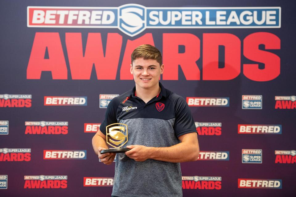 Young player of the year Jack Welsby