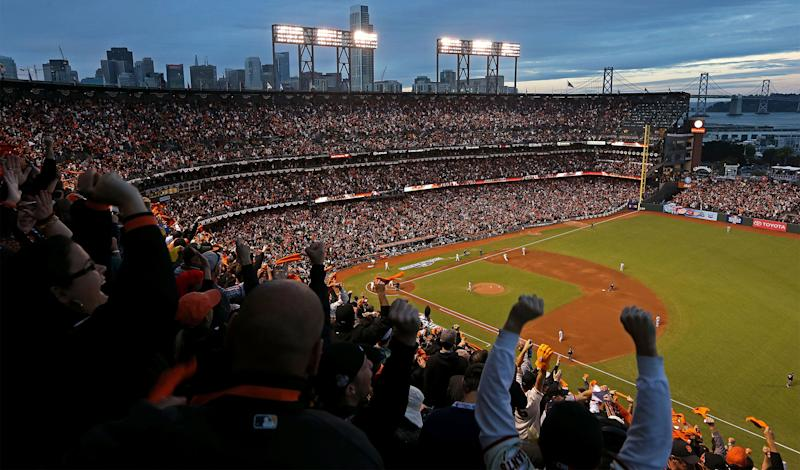 Salesforce Tower Snubbed on S.F. Giants Oracle Park Calendar