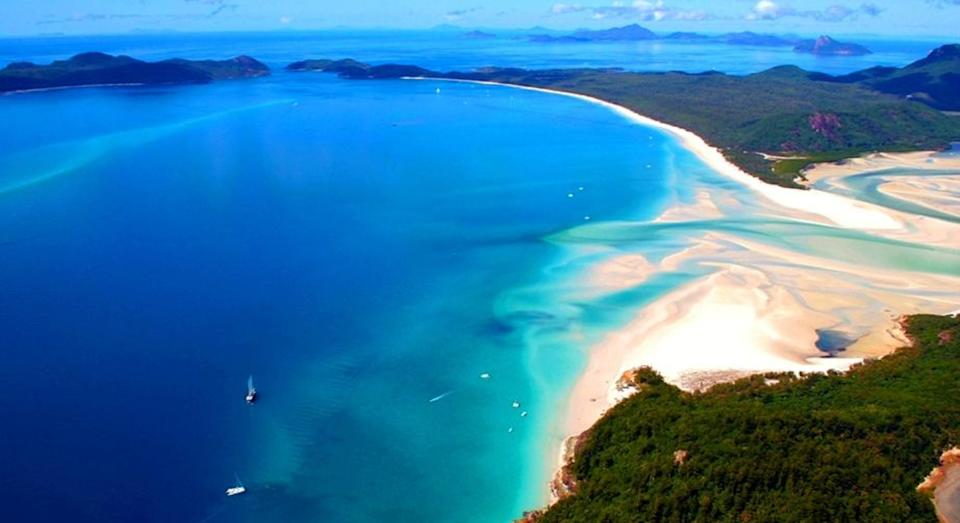 Australia's Whitehaven Beach has been named the best in the world (Tripadvisor)