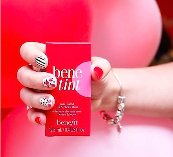 This is the amazingly scandalous history of Benefit Cosmetics' Benetint lip and cheek stain
