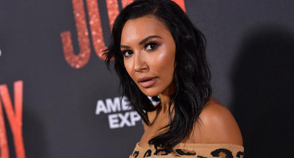 Pictured is actress Naya Rivera at a movie premiere show.