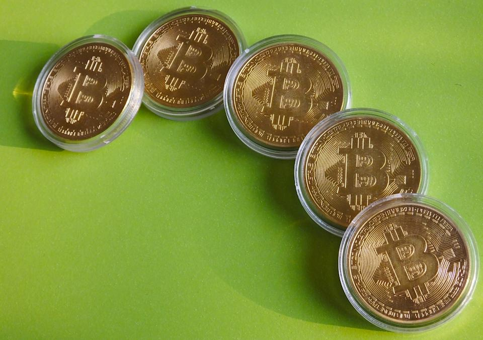 The price of the world's biggest cryptocurrency declined again on Friday. Photo: Liu Junfeng/Costfoto/Sipa USA