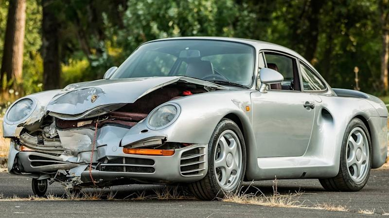 Porsche 959 For Sale >> Wrecked Porsche 959 Could Fetch 429 000 At Auction