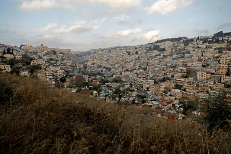 The east Jerusalem neighbourhood of Silwan is predominantly Palestinian but an Israeli settler organisation has been filing eviction notices against residents