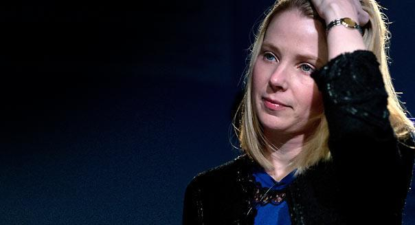 Marissa Mayer, CEO of Yahoo!, attends a session of the World Economic Forum 2013 Annual Meeting on January 25, 2013 at the Swiss resort of Davos. The World Economic Forum (WEF) is taking place from January 23 to 27. AFP PHOTO / JOHANNES EISELEJOHANNES EISELE/AFP/Getty Images