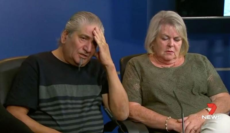Ms Gatt's father, Victor, and stepmother, Cheryl, are pleading for information on what happened to their daughter. Source: 7 News