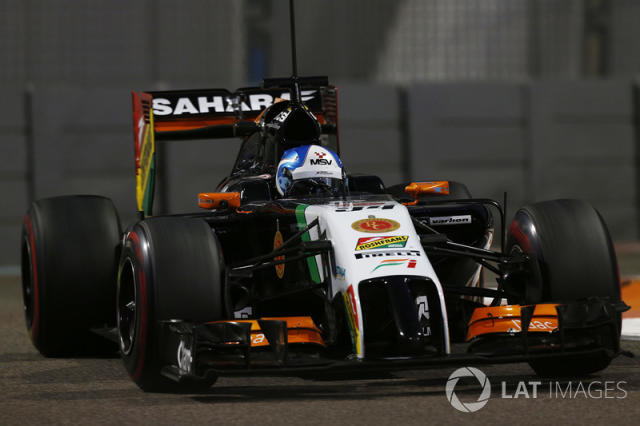 "Force India VJM07 <span class=""copyright"">LAT Images</span>"