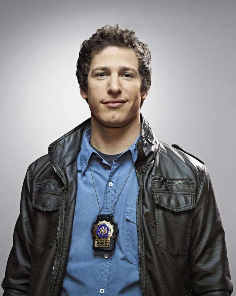 """Brooklyn Nine-Nine"": Emmy Award winner Andy Samberg as Detective Jake Peralta in the new single-camera workplace comedy ""Brooklyn Nine-Nine"" premiering this fall on FOX."