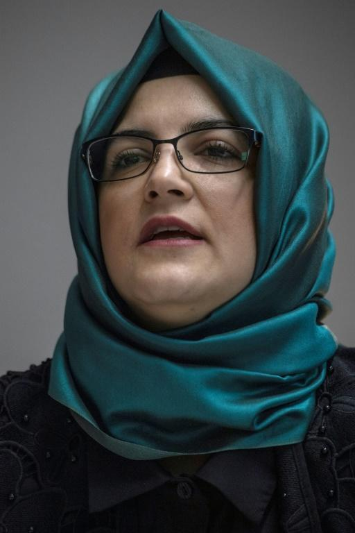 Hatice Cengiz, the fiancee to late Washington Post columnist Jamal Khashoggi, has demanded justice for the journalist's grisly murder by Saudi agents