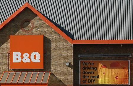 File photo of a B&Q store in London