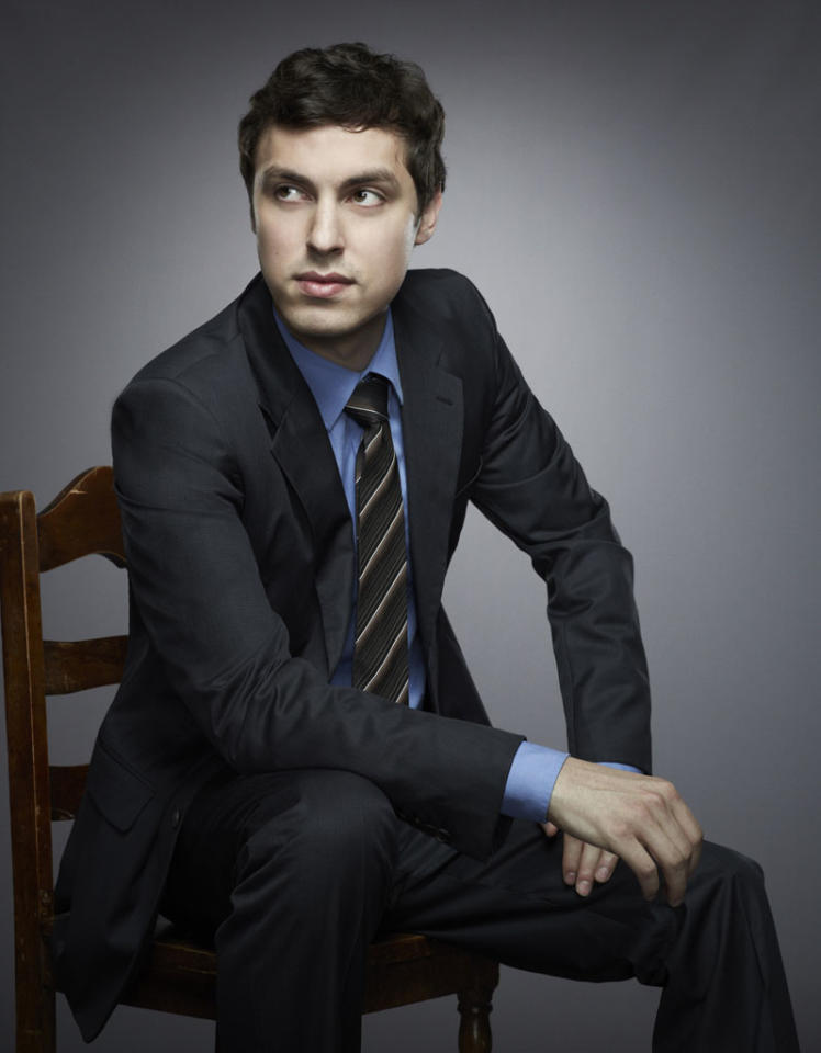 "John Francis Daley returns as Dr. Lance Sweets in Season 8 of ""Bones."""