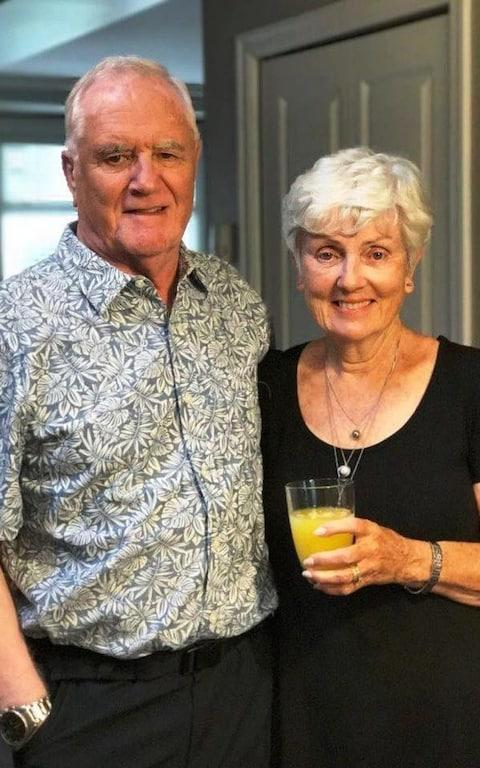 Grandfather Ian Moore Wilson who died at the scene of the Barcelona attack.