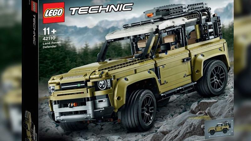 Land Rover Defender LEGO kit revealed