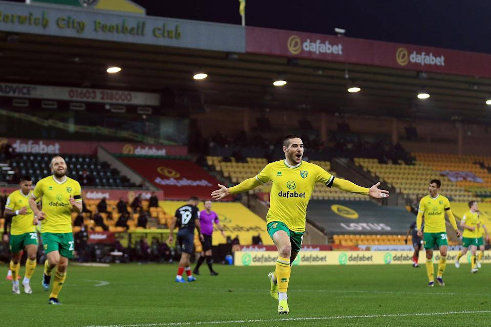 <p>Norwich are 10 points clear at the top of the Championship</p> (Getty Images)