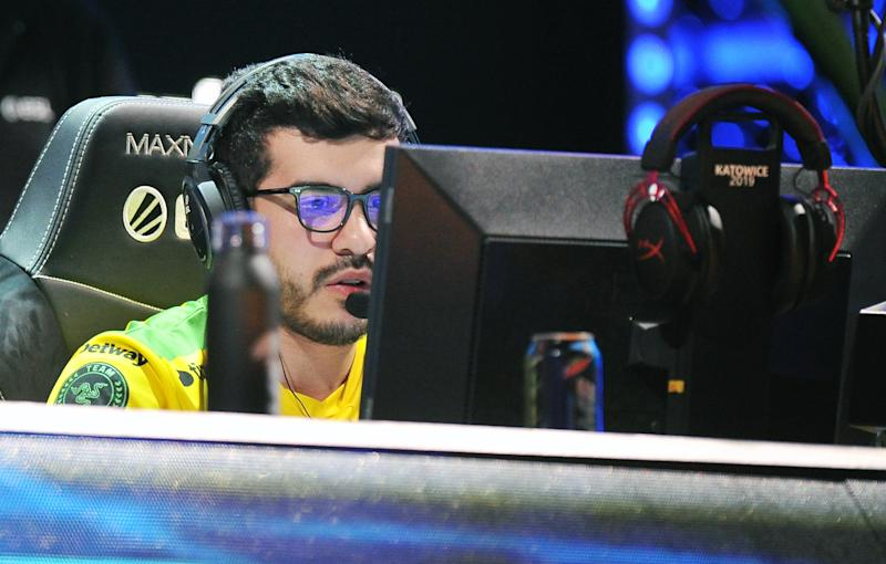 KATOWICE, POLAND - MARCH 01: Marcelo coldzera David during Counter-Strike: Global Offensive game between mibr and Renegades during ESL Intel Extreme Masters 2019 on March 01, 2019 in Katowice, Poland. (Photo by Norbert Barczyk/PressFocus/MB Media/Getty Images)