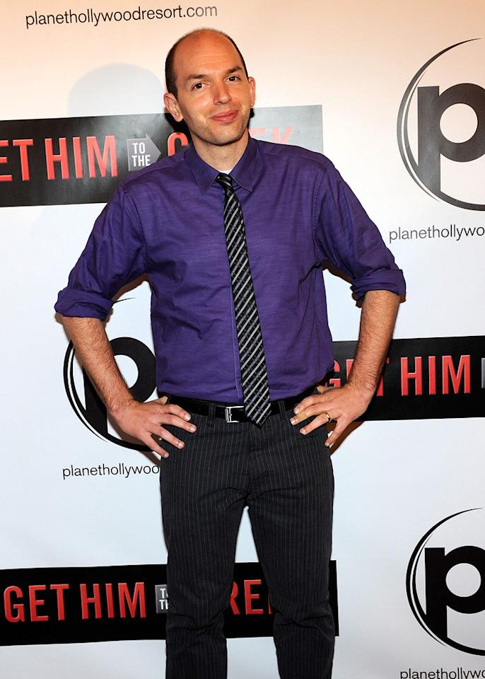 """<a href=""""http://movies.yahoo.com/movie/contributor/1809161042"""">Paul Scheer</a> at the Las Vegas screening of <a href=""""http://movies.yahoo.com/movie/1810081179/info"""">Get Him to the Greek</a> - 05/20/2010"""