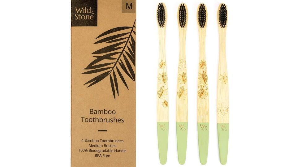 Wild & Stone's Bamboo Toothbrushes - Amazon, $14