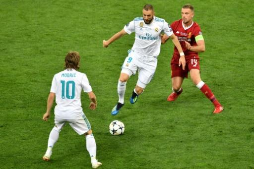 Luka Modric and Jordan Henderson meet again just over six weeks on from the Champions League final