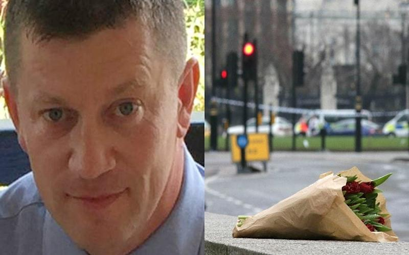 Pc Keith Palmer was killed in the London attack - AFP / PA / Met Police