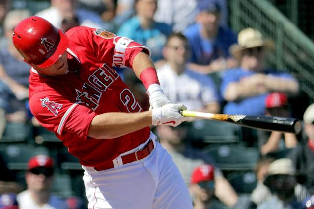 <p>Mike Trout is the best player in the world and it's not close. Time invested in watching him is never wasted. (AP) </p>