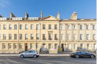 """<p>Arranged over three floors, this magnificent Grade I listed Georgian townhouse is situated on one of Bath's most prestigious streets. With a honey-hued exterior, five bedrooms and heaps of character, it's as charming as can be. When can we move in?</p><p><a href=""""https://www.knightfrank.co.uk/properties/residential/for-sale/great-pulteney-street-bath-somerset-ba2/bth012083873"""" rel=""""nofollow noopener"""" target=""""_blank"""" data-ylk=""""slk:This property is currently on the market for £1,585,000 via Knight Frank"""" class=""""link rapid-noclick-resp"""">This property is currently on the market for £1,585,000 via Knight Frank</a>.</p>"""