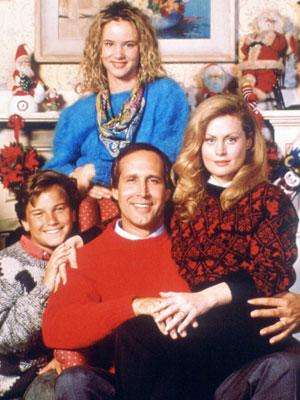 A Christmas Vacation.Clark Griswold Wears The Pants In A Christmas Vacation