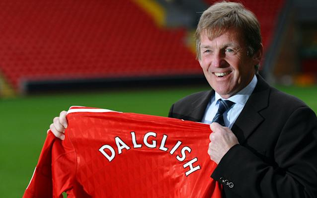 <span>Dalglish returned to manage Liverpool for a second term during which time he won the League Cup</span> <span>Credit: Getty Images </span>
