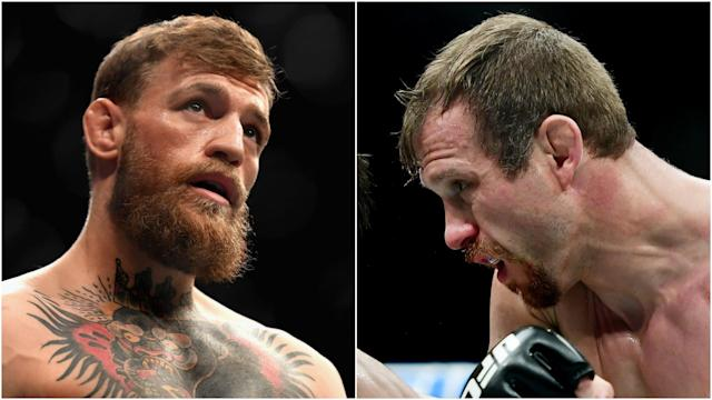 We look at the tale of the tape as Conor McGregor prepares to makes his UFC comeback against Donald Cerrone.