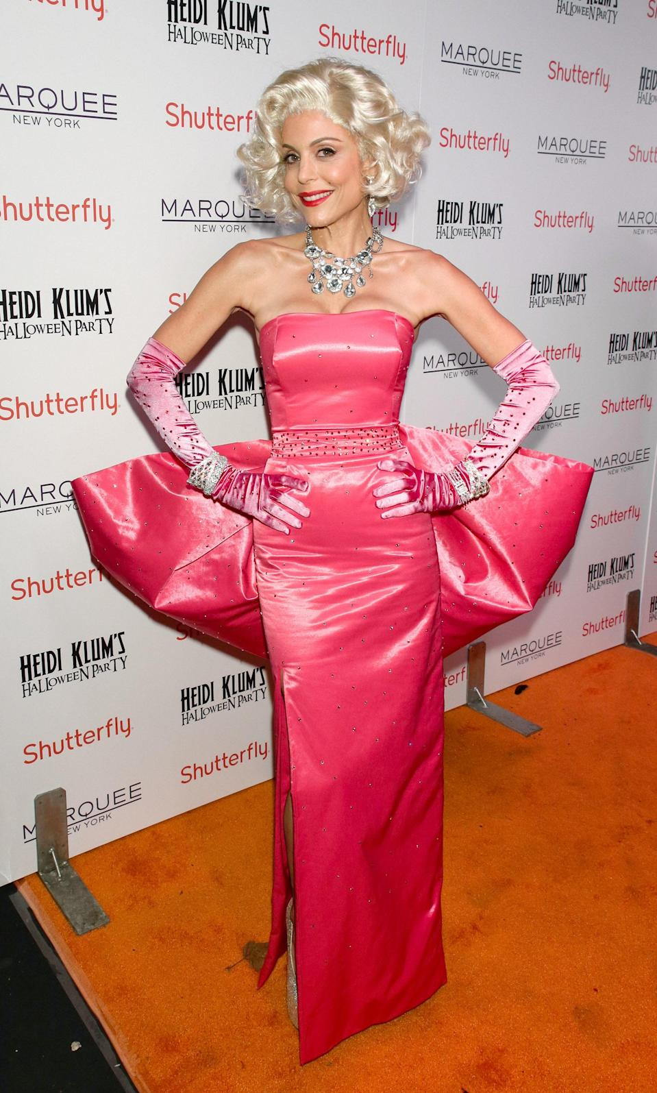The <em>Real Housewives</em> star channeled her inner Marilyn from <em>Diamonds Are a Girl's Best Friend</em>.