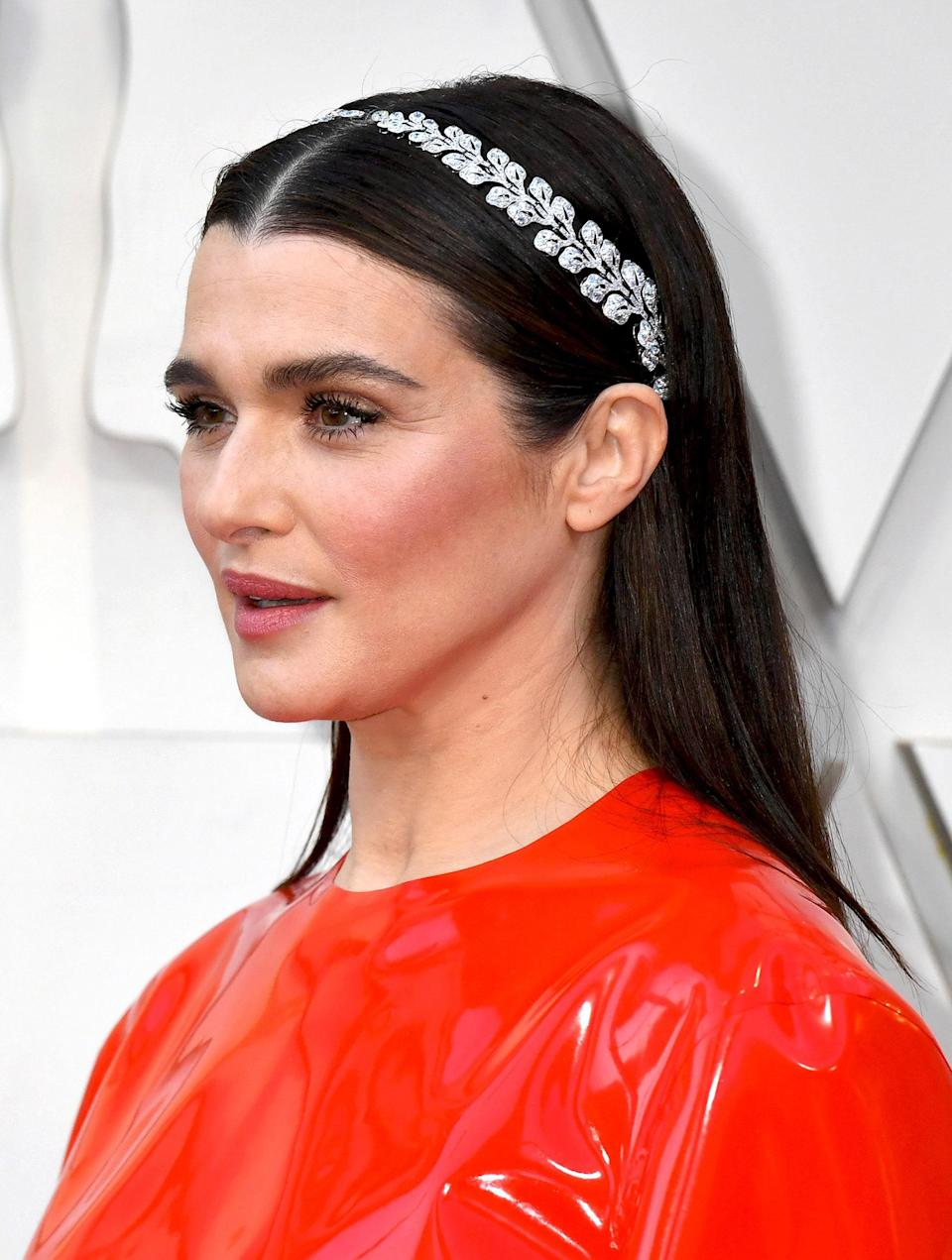 The best fashion moments seamlessly merge old and new. In 2019 Rachel Weisz complimented the futurism of the Givenchy Haute Couture gown with vintage Cartier pieces from 1903. Two matching diamond and platinum brooches were combined to create Weisz's headband, creating an arresting final touch that elevated her entire look.