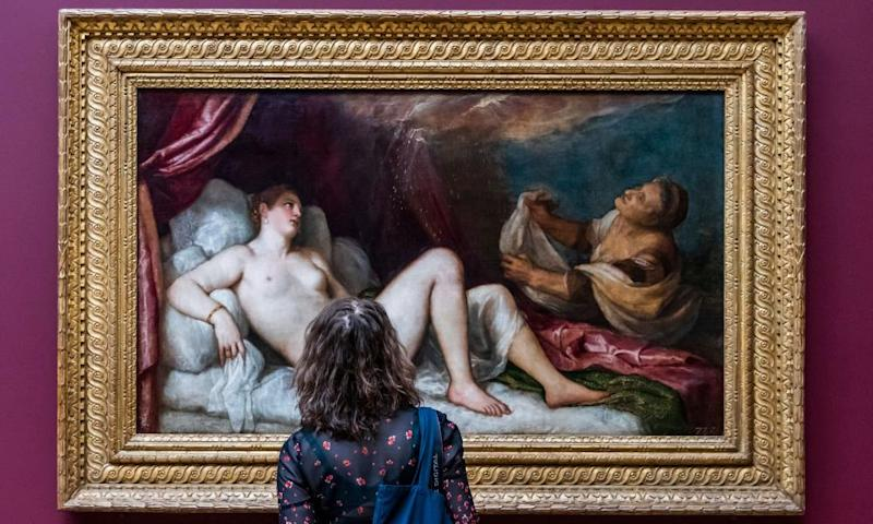 Titian: Love, Desire and Death exhibition.