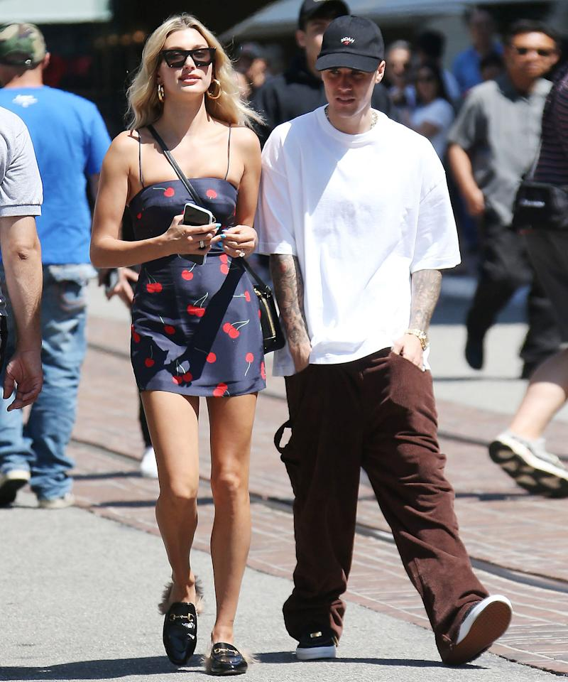 Hailey Baldwin Has This Dress in Every Color, and It's Marked WAY Down Today