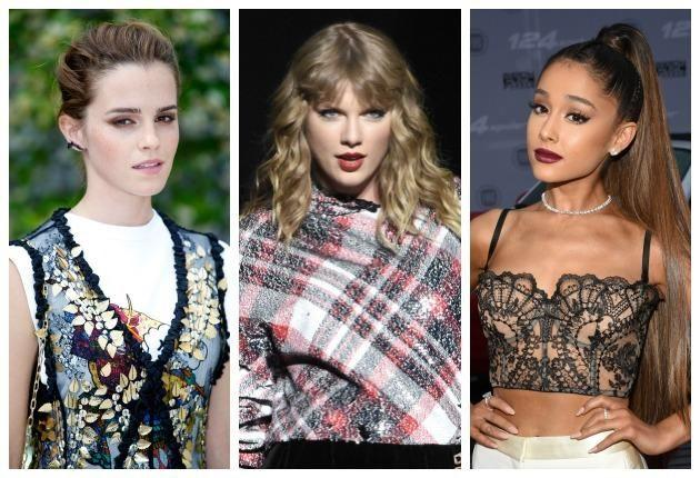 Emma Watson, Taylor Swift and Ariana Grande have all been victims of the trend. Photo: Getty