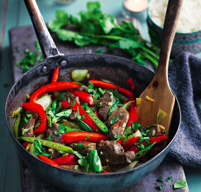 """<p>Skinless duck is a leaner choice than beef, but it still has tons of flavour. Our duck stir-fry recipe is speedy and packed full of flavour thanks to the chilli, ginger, five spice and black bean sauce.</p><p><a class=""""link rapid-noclick-resp"""" href=""""https://www.redonline.co.uk/food/recipes/a32728862/duck-stir-fry-recipe/"""" rel=""""nofollow noopener"""" target=""""_blank"""" data-ylk=""""slk:DUCK STIR-FRY RECIPE"""">DUCK STIR-FRY RECIPE </a></p>"""