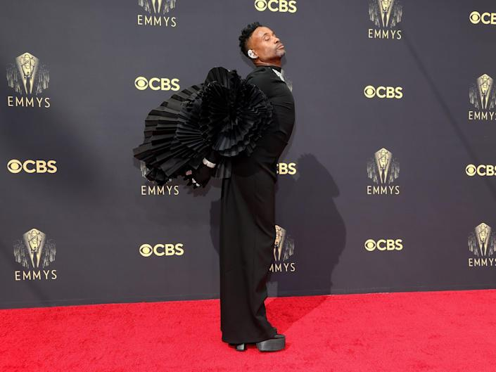 Billy Porter attends the 73rd Primetime Emmy Awards at L.A. LIVE on September 19, 2021 in Los Angeles, California.