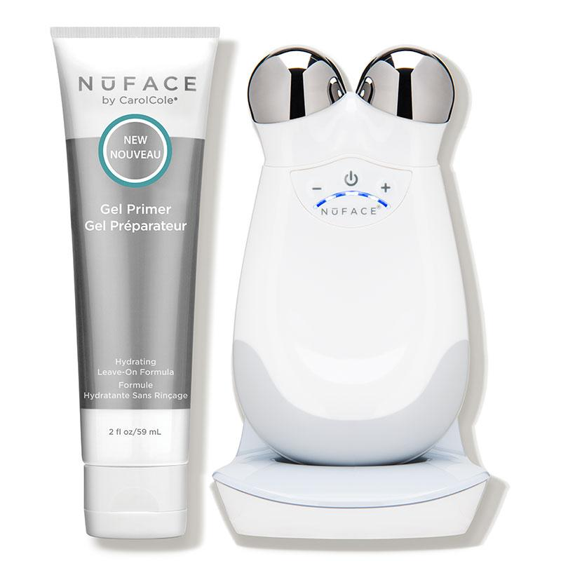 """<p><strong>NuFACE</strong></p><p>dermstore.com</p><p><strong>$325.00</strong></p><p><a href=""""https://go.redirectingat.com?id=74968X1596630&url=https%3A%2F%2Fwww.dermstore.com%2Fproduct_Trinity%2BFacial%2BToning%2BKit_38762.htm&sref=https%3A%2F%2Fwww.elle.com%2Fbeauty%2Fg31245487%2Fdermstore-sale-refresh%2F"""" target=""""_blank"""">Shop Now</a></p><p>""""I woke up this morning to five (5) text messages about the NuFace. 'Is it worth it?' 'Should I buy it?' 'Do you like it?' The answer to all of the above is an astounding yes! The microcurrent technology channels EMS (electric muscle stimulation) to tighten cheekbones and chisel jaws. Also, the technology works to plump out wrinkles and lines. But does it work? And for the people in the back: Yes!""""— Chloe Hall, Beauty Director of ELLE.com</p>"""