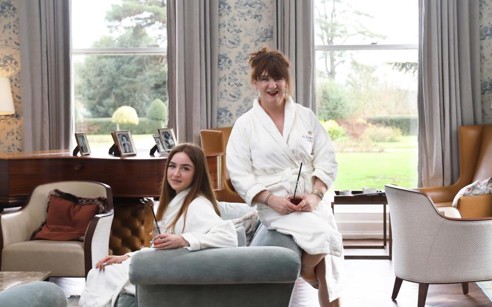 Judith and her daughter at Champneys Tring - John Lawrence